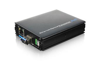 百兆POE光纤收发器(SFP)