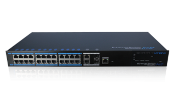 24口PoE网管型交换机 (千兆上联二光二电)